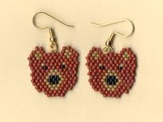seed bead earrings - Google Search