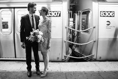 City Hall Wedding in New York by Smitten Chickens Photography - Full Post: http://www.brideswithoutborders.com/inspiration/city-hall-wedding-in-new-york-by-smitten-chickens