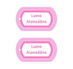 Kids Labels, baby labels, clothing labels and more! Personalize fun name labels, school labels and daycare labels with the coolest designs that will last all year long. Daycare Labels, Kids Labels, School Labels, Name Labels, Name Tags, Cool Names, Kid Names, Nametags For Kids, Clothing Labels
