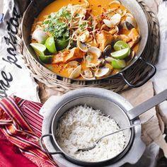 Thai Fish Curry - Healthy & Easy Recipes