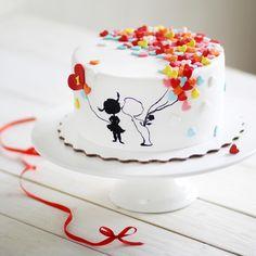 Aniversary Cakes, Wedding Anniversary Cakes, Boys 18th Birthday Cake, Funny Birthday Cakes, Pretty Cakes, Beautiful Cakes, Fondant Cakes, Cupcake Cakes, Doodle Cake