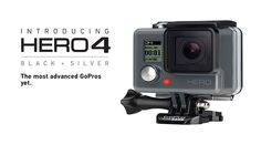 Capturing 4K Ultra HD video and liquid-smooth slow motion at up to 240 frames per second, HERO4 Black delivers higher performance than any other GoPro.