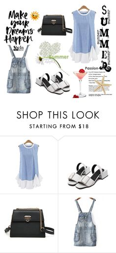 """..."" by red-rose-girl ❤ liked on Polyvore featuring modern, outfit, Sheinside and shein"