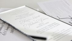 Silver perspex engraved acrylic invites by Secret Diary.