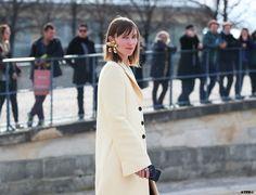 Streetstyle Post: PFW- 6 Looks to Love: Anya Ziourova on #ATPB http://goo.gl/Jo12Ki