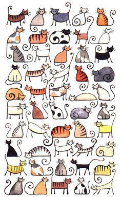 Um gatinho, dois gatinhos, três gatinhos, quatro gatinhos, ... ^=^