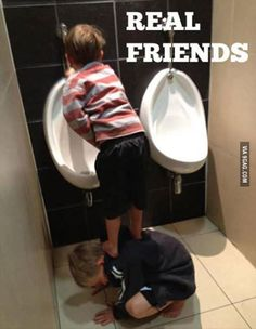 Just real friends!