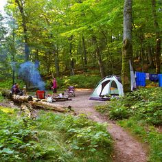 Don't forget to snap the casual campsite pic. Photo: Jennifer D. REI1440Project