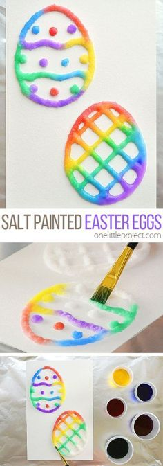 15 Easter craft ideas for little kids! We are sharing some amazing ideas to keep your little ones busy and excited for Easter! #easter #eastercrafts #craftideas #kidscrafts #homeschool