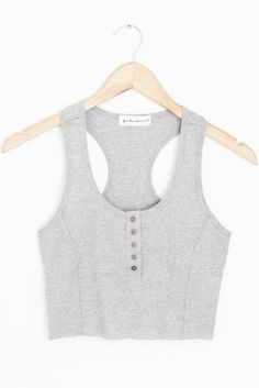 """- Details - Size - Shipping - • 100% Cotton • Baby ribbed crop tank • Hand Wash • Line dry • Imported • Measured from small • Length 15.5"""" • Chest 13"""" • Waist 12"""" - Free domestic shipping on U.S. orde"""