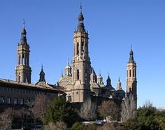 Basilica of Our Lady of the Pillar - Zaragoza, Spain.  A very interesting story of the beginnings of the church.