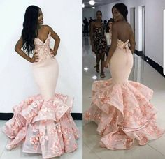 White and Ivory are taking a back seat for the upcoming wedding season.Brides are making bold statments in Blush Gowns. Is this trend right for you? we help brides find thier style. African Evening Dresses, African Wedding Dress, African Fashion Dresses, Pageant Dresses, Ball Dresses, Event Dresses, Formal Dresses, Dinner Gowns, Prom Outfits