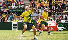 John Peers and Sam Groth won their doubles match against Slovakia