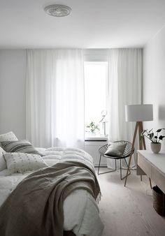 Home interior Design Cozy Small Apartments - Home interior Colour Ideas - - Home interior Grey Living Room Gray Bedroom, Home Bedroom, Modern Bedroom, Bedroom Decor, Bedroom Ideas, Teen Bedroom, Bedrooms, Bright Homes, Minimalist Bedroom