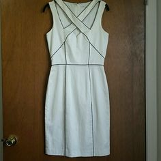 Black Halo Cut Out Dress Brand new, never worn, great condition. Super cute and sexy white cut out dress. Perfect summer day or night dress. Black Halo Dresses