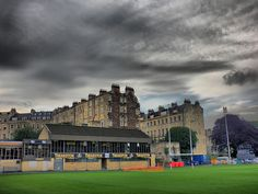 Bath Rugby Ground, The Rec, Bath, Somerset, England, UK (HDR) by J H B, via Flickr