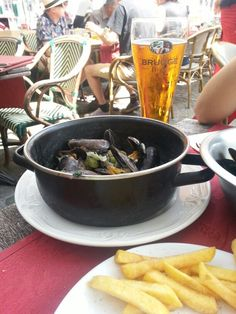 Mussel , Brugge