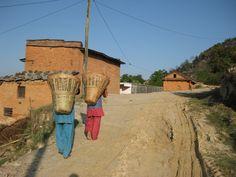 Field workers in Dhulikhel