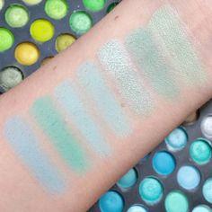 1ec8bb236c4d32 Light mint colors and pastel blues. Top to bottom  Sea Foam Mint Condition  Minty Fizz Sea Spray Sky - didymosphenia