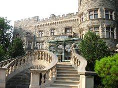 Grey Towers  In Milford, Pennsylvania- castles Photo