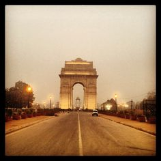 The India Gate is the national monument of India. Situated in the heart of New Delhi, it was designed by Sir Edwin Lutyens.