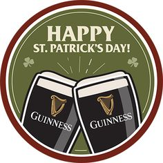 Patrick's Day from Guinness With Irish beer flowing at pubs all over the world, have you ever wondered what beer is truly on St. Patrick's Day? Dementia Activities, Elderly Activities, Craft Activities, Irish Beer, St Patricks Day Food, Irish Pride, Educational Crafts, Beer Coasters, Luck Of The Irish