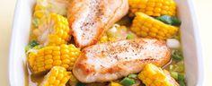 Kukuřice na másle s grilovaným kuřecím masem Treats, Vegetables, Food, Sweet Like Candy, Goodies, Essen, Vegetable Recipes, Meals, Sweets