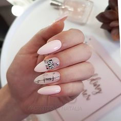 The work of the wizard @ kadyntseva_nails of Salavat . Korean Nail Art, Korean Nails, Pop Art Nails, Fun Nails, New Nail Art Design, Nail Art Designs, Romantic Nails, Mauve Nails, Nails Design With Rhinestones