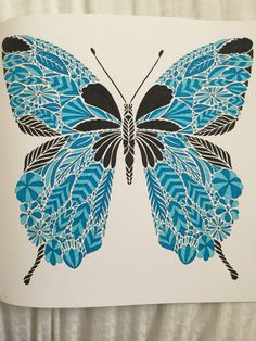 Butterfly - Tropical Wonderland Book, Millie Marotta
