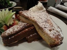 Banana Stuffed Brioche French Toast (Twisted Fork Bistro - Vancouver, BC)