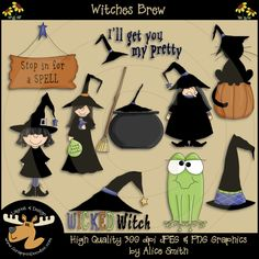 Witches Brew Clipart Download
