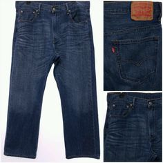 LEVIS 569 Loose Straight Men's 34x30 Jeans 34 x 30 FREE US SHIPPING EUC #Levis #BaggyLoose