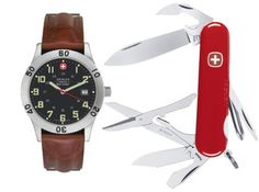 Wenger 69265 Set 72965 Grenadier Swiss Military Watch & 16984 Teton Swiss Army Knife Wenger. $136.50. Save 44% Off!
