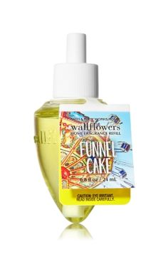 Funnel Cake - Wallflowers Fragrance Refill - Bath & Body Works - Fragrance that welcomes you home! Combine with your favorite Wallflowers Fragrance Plug, sold separately, to scent any room with noticeable fragrance for weeks and weeks.