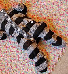 Turn a knit sweater into pajamas - tutorial.  Heck yeah.