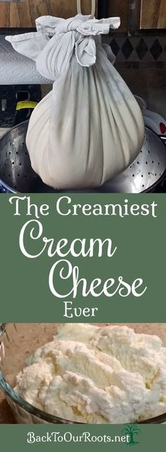 Develop A The Moment Upon A Dream Fairy Tale Birthday Bash Easy Homemade Cream Cheese Goat Milk Recipes, Cream Cheese Recipes, Real Food Recipes, Cooking Recipes, Cream Cheeses, Make Cream Cheese, Dairy Recipes, Cooking Tips, How To Make Cheese