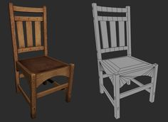 Nates props - chair