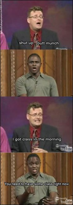 Whose Line Is It Anyway? This one made me laugh so hard!!! Love Wayne!