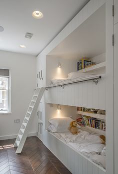 Children's bedroom | Interior Design of Private House Tarrant Place, London UK by Bart Eyking