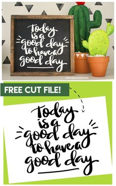 Free quote cut file for silhouette and cricut - A girl and a glue gun