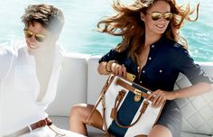 Michael Kors ad advertisiment campaign spring-summer- Michael Kors' 'Passport to Glamour'11