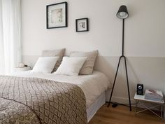 bedroom (no headboard) Bedroom Wall Paint Colors, 21st Decorations, Parents Room, Modern Rustic, Eames, Sweet Home, Minimalist, Interior Design, Furniture