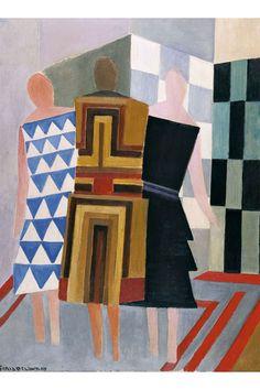 Sonia Delaunay, Robert Delaunay, Contemporary Australian Artists, Modern Artists, Contemporary Art, Fashion Textiles, Illustration Art, Illustrations, Art Story