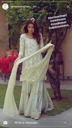 Best Trendy Outfits Part 5 Pakistani Formal Dresses, Pakistani Wedding Outfits, Pakistani Dress Design, Pakistani Bridal, Indian Dresses, Indian Outfits, Pakistani Sharara, Sharara Suit, Walima