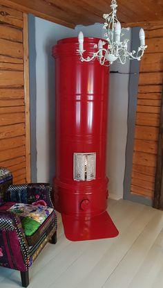 Punainen pönttöuuni, uunimuurari Petteri Stubb Minden, Popcorn Maker, Kitchen Appliances, Home, Diy Kitchen Appliances, House, Home Appliances, Homes, Houses