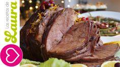 Pierna al horno a la naranja con arándanos Recetas de Navidad Baked ham ...