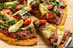 Sweet Potato Pizza Crust | Vegan and Gluten-Free
