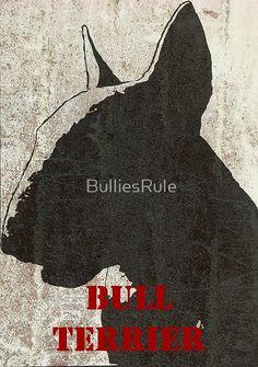 """""""Bull Terrier"""" Red"""
