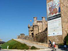 Castillo Templario en Ponferrada.