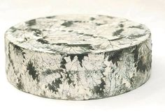 English cheese. Cornish Yarg is made by hand, then brined before nettle or wild garlic leaves are wrapped around it. One of my personal favourites.